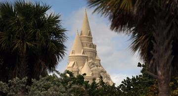 The world's tallest sandcastle has been built in Miami!