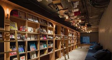 An unusual hotel in Tokyo for people who like to read in bed