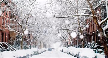 22 fascinating pictures of snowy cities that look like a fairy tale!