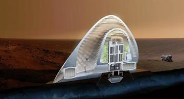 "NASA chose the ""Ice House"" as a habitat for the first colonists on Mars!"