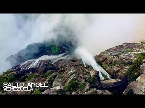 Breathtaking video of the highest waterfall in the world captured by a drone!
