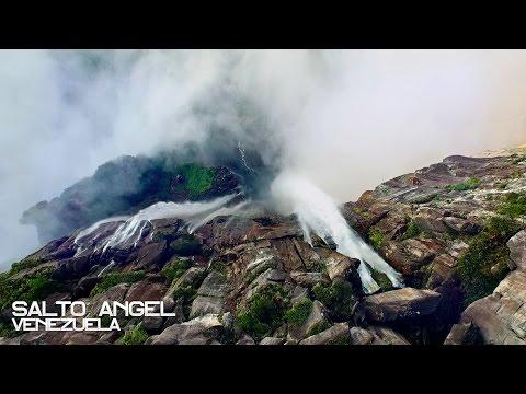 Головокружительное видео самого высокого водопада в мире!