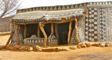 You will be marveled by this authentic monumental art of a small Burkina Faso village!