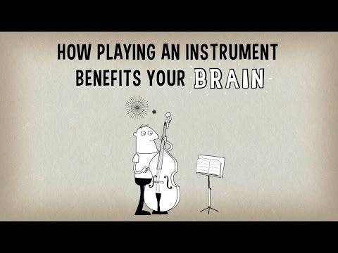 Почему игра на музыкальном инструменте положительно влияет на работу мозга!
