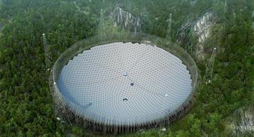 China has completed the construction of the largest alien-hunting telescope in the world!