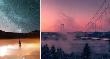 14 breathtaking pictures of fog that will bring you a mysterious mood