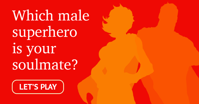 Which Male Superhero Is Your Soulmate?
