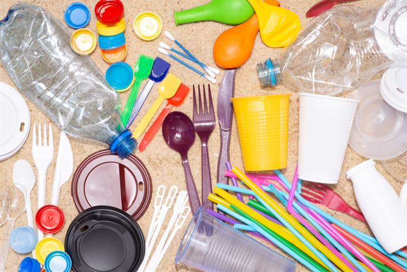 Culture Story: single-use plastic packaging pollution plastic bags bottles ocean sea nature danger environment