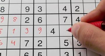 Sudoku - one of the most exciting puzzles