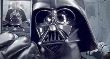 Even Darth Vader Has to Live an Ordinary Life! Watch How He Does it!