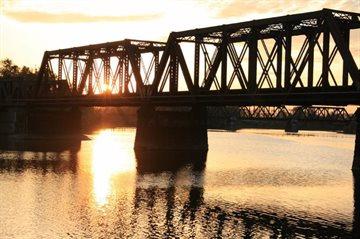 География Story: Тысячи пауков поселились на главном мосту города Колумбус, столицы штата Огайо!