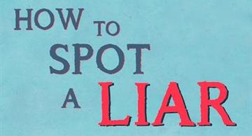 How to detect a liar - this is simpler than you could imagine!
