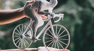 Startling 3D paper athletes by the artist Raya Sader Bujana