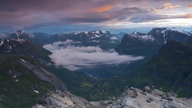 Прекрасные пейзажи Норвегии в потрясающем таймлапс видео