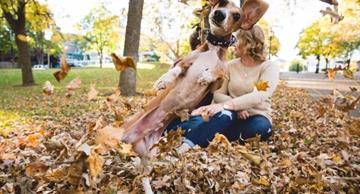 This funny dachshund made a photo session of his masters unforgettable!