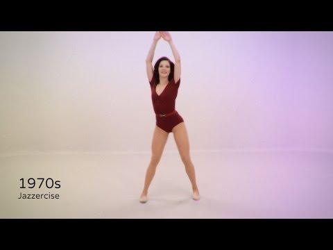 Как менялся фитнес в течение последних 100 лет за 100 секунд!