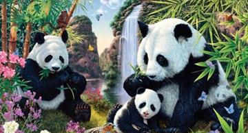 Only highly intelligent people can spot all the pandas in this picture. Can you?