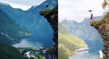 Unbelievable: the same places spotted by an amateur and a professional photographer!
