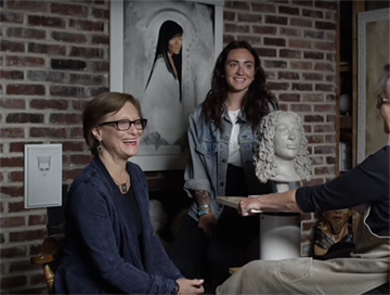 Find out how blind people see their loved ones in this charming video