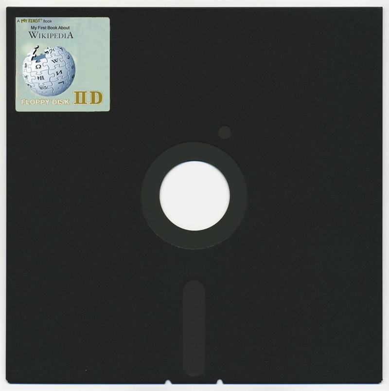 #25 8″ FLOPPY DISC