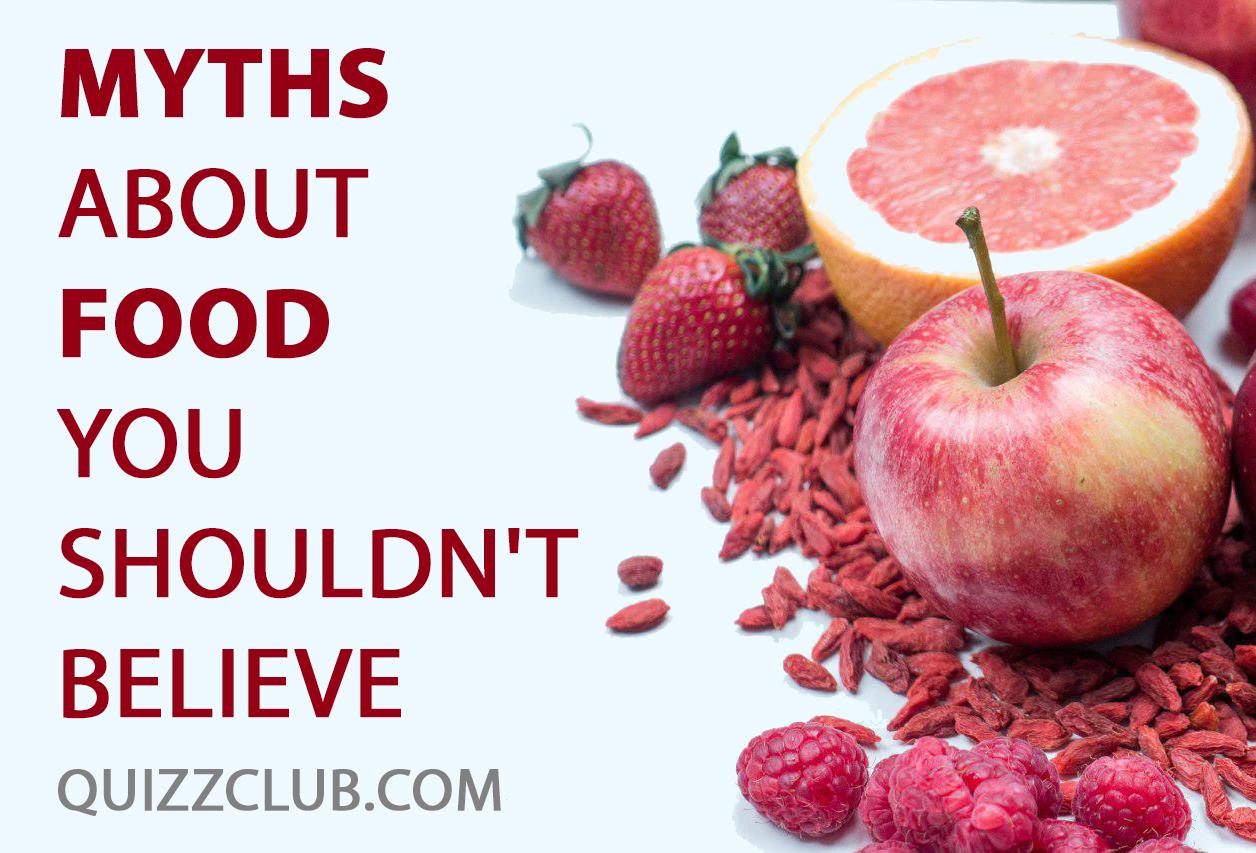 Common Healthy Food Myths