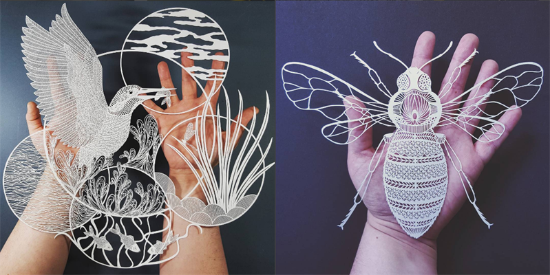 Fantastic paper carving that will definitely win your heart