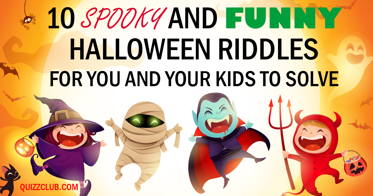 Funny Halloween Stories Holiday Facts And Stories Quiz Club ...