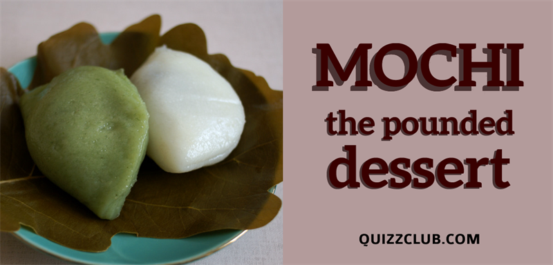 "Dramatic way of making the Japanese dessert ""mochi"""