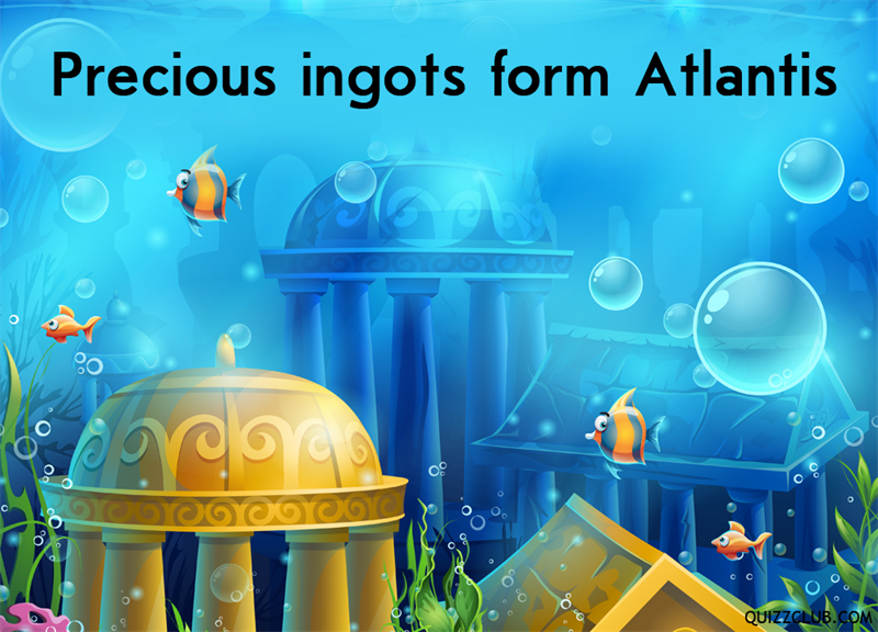 History Story: Precious ingots form Atlantis