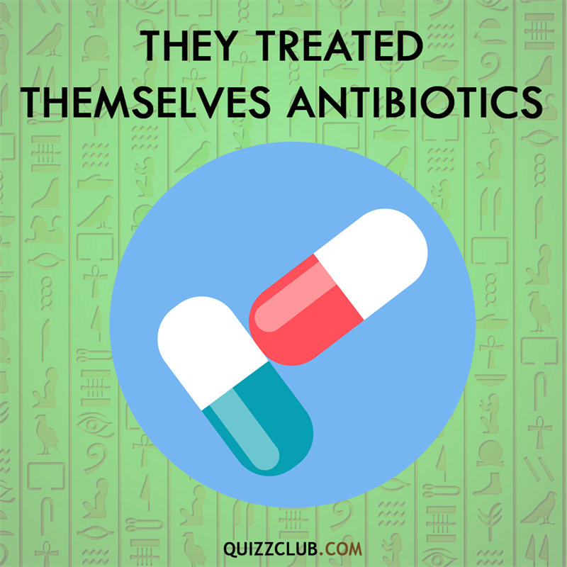History Story: Ancient Egyptians treated themselves antibiotics