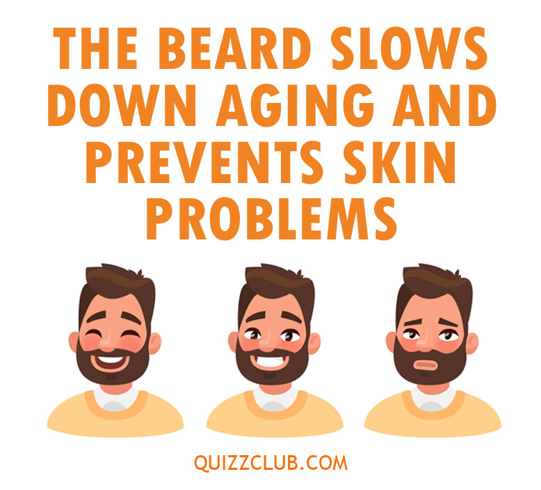 Science Story: Astonishing facts about beards you've never heard before #1