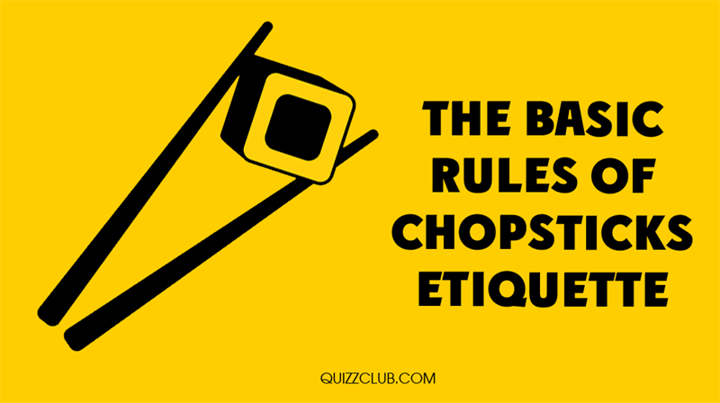 Culture Story: The basic rules of chopsticks etiquette