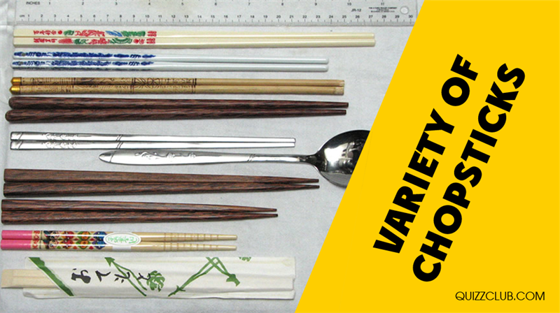 Culture Story: Variety of chopsticks