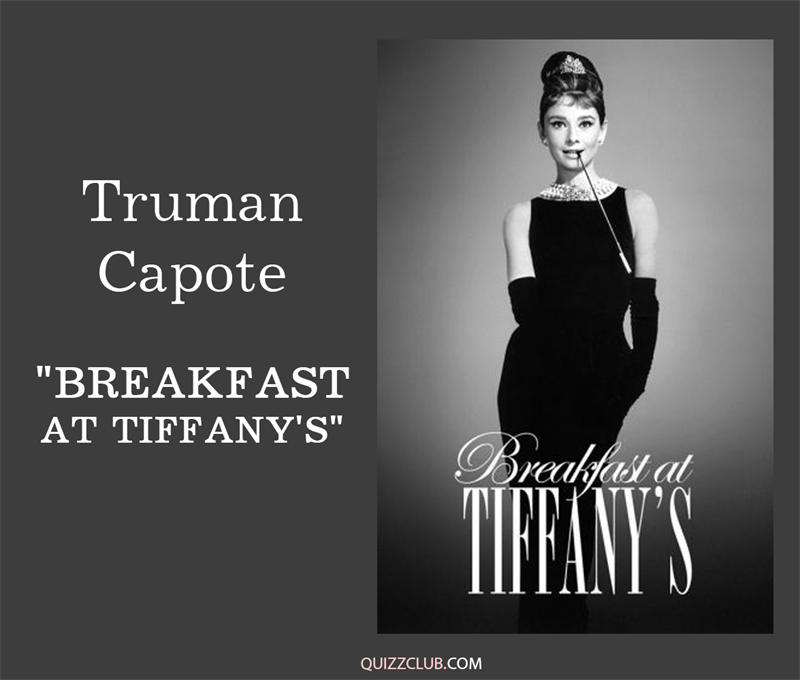 "Culture Story: 1. Truman Capote ""Breakfast at Tiffany's"""