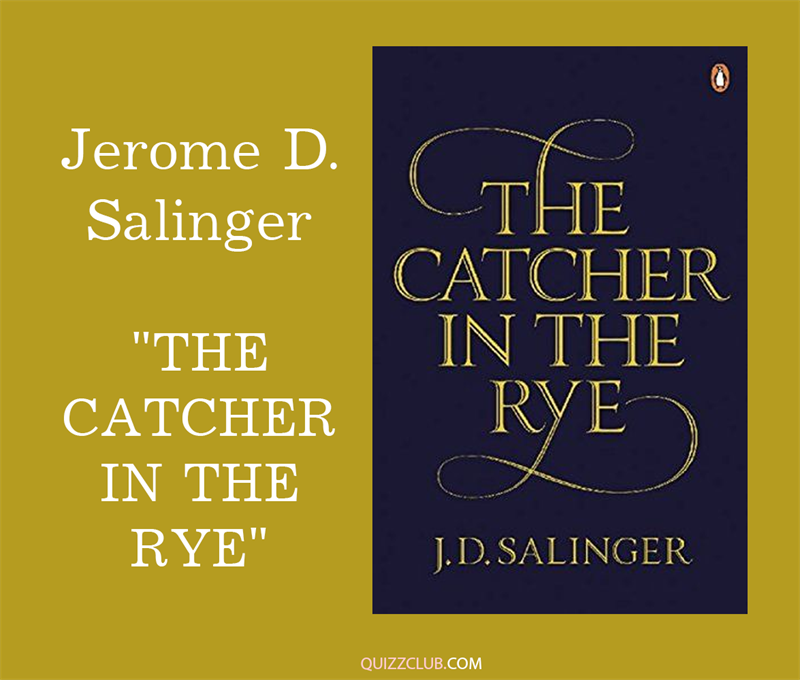 "Culture Story: 3. Jerome D. Salinger ""The Catcher In the Rye"""