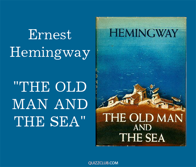 "Culture Story: 4. Ernest Hemingway ""The Old man and the Sea"""