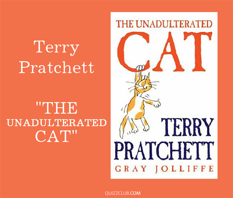 "Culture Story: 4. Terry Pratchett ""The Unadulterated Cat"""