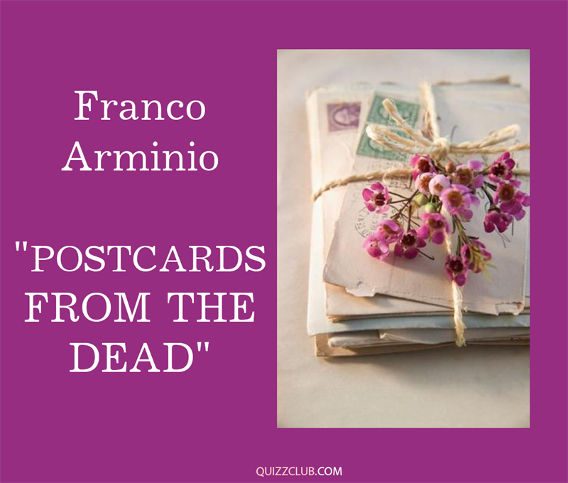 "Culture Story: 5. Franco Arminio ""Postcards from the Dead"""