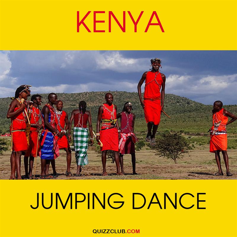 Geography Story: Kenya: Jumping dance