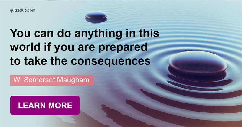 Culture Story: Somerset Maugham's thoughtful quotes about life