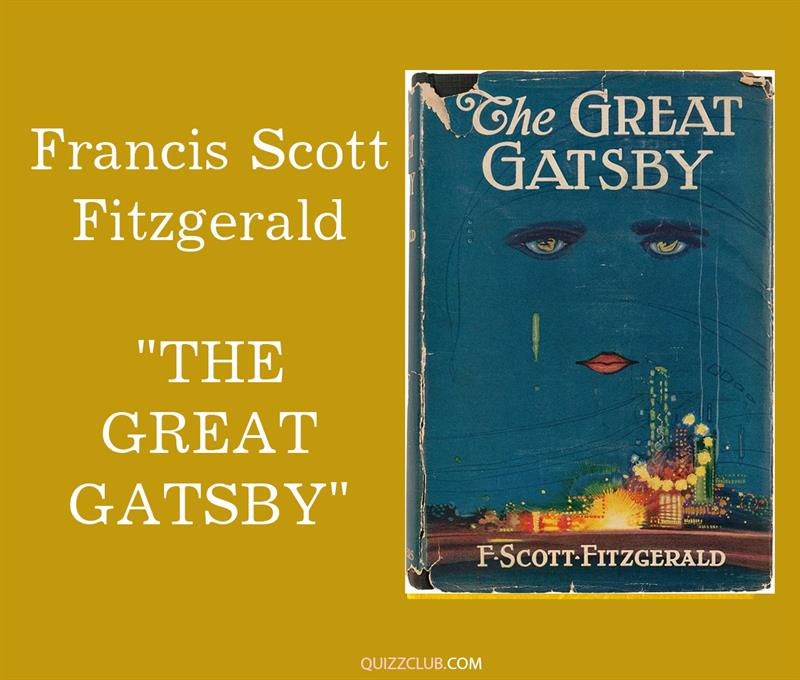"""Culture Story: 9. Francis Scott Fitzgerald """"The Great Gatsby"""""""
