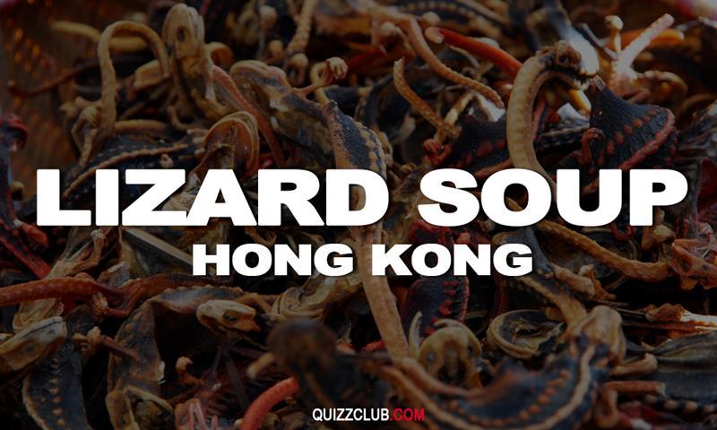 Geography Story: Lizard soup (Hong Kong)