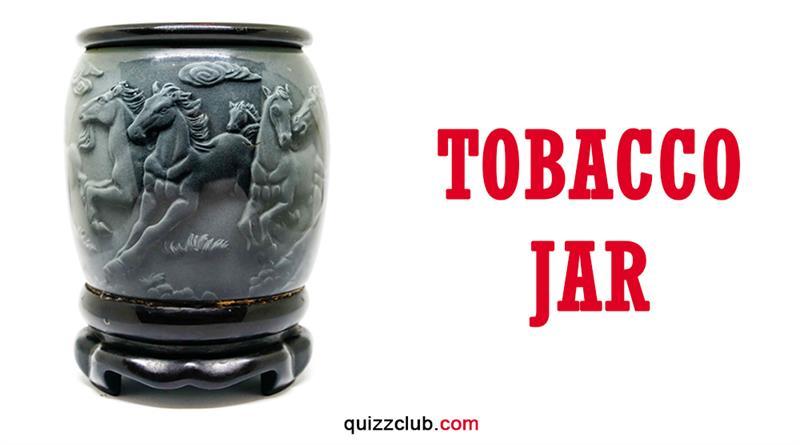 History Story: Tobacco jar