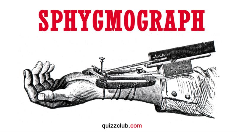 History Story: Sphygmograph