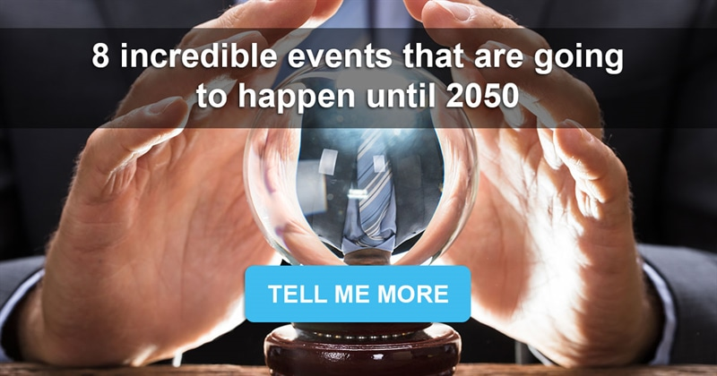 Culture Story: Future is Now: 8 incredible events that are going to happen until 2050