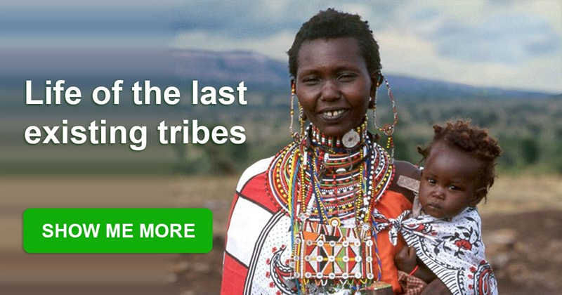 Culture Story: Incredible pictures of the last tribes living on our planet
