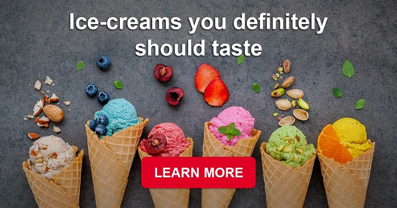 Story: Unique and extremely delicious ice-creams from all over the world