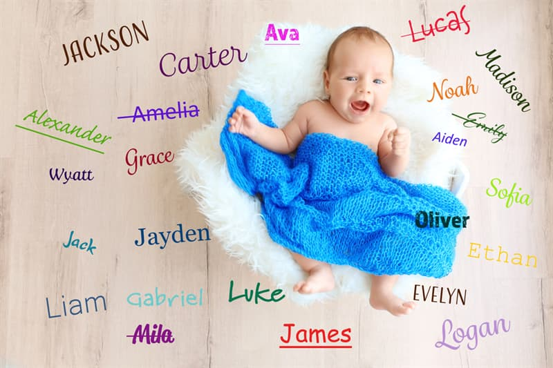Geography Story: #3 The most widespread names are Mary and James