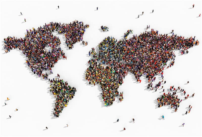 Geography Story: #6 World population increased 22 times in a thousand years