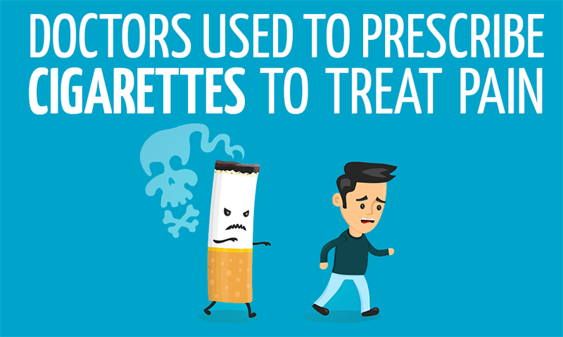 History Story: Doctors used to prescribe cigarettes to treat pain